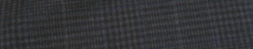 【Ca_81s041】ダークグレーファンシーチェック+7×5cmグレー・ブループレイド
