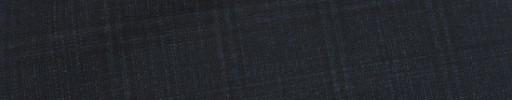 【Ca_81s044】ダークネイビー+4×2.5cm黒オルターネートチェック