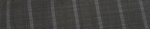 【Ca_81s061】グレー黒ピンチェック+1.7cm巾ストライプ