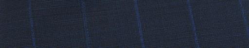 【Ca_81s064】ネイビー黒ピンチェック+2.5cm巾ストライプ