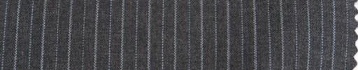 【Cm_8s03】ミディアムグレー+1cm巾ライトブルードット交互ストライプ