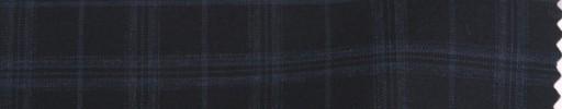 【Cm_8s08】ダークネイビー+3.3×2.8cmブルーオルターネートチェック