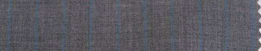 【Cm_8s09】ライトグレー+1.2cm巾ライトブルーストライプ
