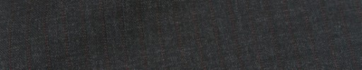 【Mc_8s15】チャコールグレー+6ミリ巾赤茶ドットストライプ