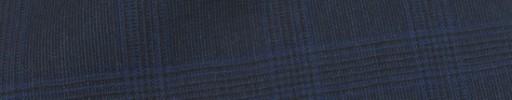 【Mc_8s20】ダークブルーグレーグレンチェック+4×3.5cmブループレイド