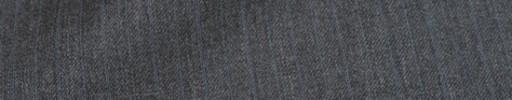 【Mc_8s33】ミディアムグレー+1.1cm巾織り交互ストライプ