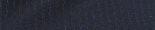 【Mc_8s49】ダークネイビー+6ミリ巾ブルーWドットストライプ