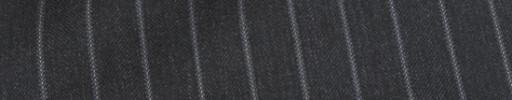 【Mc_8s53】チャコールグレー+1.2cm巾ストライプ