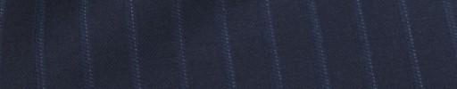 【Mc_8s55】ネイビー+1.3cm巾織りストライプ