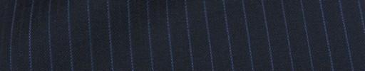 【Mc_8s58】ネイビー+6ミリ巾ブルー・織り交互ストライプ