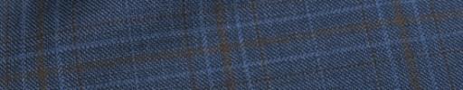 【Mjt_8s43】ネイビー+5.5×5cmブラウンチェック+ブルーオーバープレイド