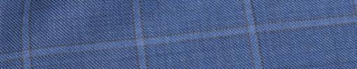 【Mjt_8s44】ブルー+4.5×4cmライトブルー・ブラウンウィンドウペーン