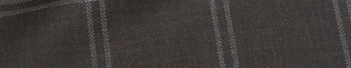 【Mjt_8s45】ダークブラウン+5×4.5cm白ドットWプレイド