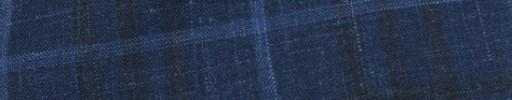 【Mjt_8s51】ネイビー+7×6cmファンシーチェック+ライトブルーオーバープレイド
