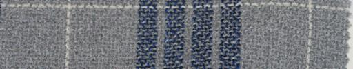 【P_8s50】ライトグレー+10×8cmネイビー・白オルターネートプレイド