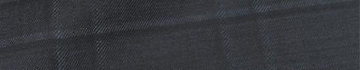 【Sy_8s05】ブルーグレー+5.5×5cm黒・パープルオルターネートチェック