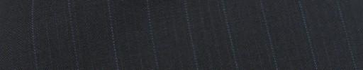 【Sy_8s30】ダークネイビー織りストライプ柄+1.1cm巾ブルーストライプ