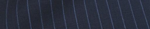【Cu_8s07】ネイビー+9ミリ巾ブルードットストライプ