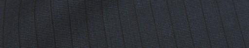 【Cu_8s15】ダークネイビーピンチェック+8ミリ巾織りストライプ