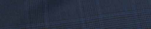 【Cu_8s18】ライトネイビー・黒5.5×4.5cmグレンチェック