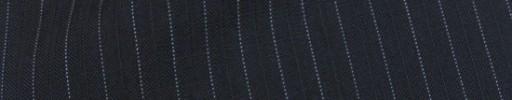 【Cu_8s26】ネイビー+7ミリ巾白ドット・織り交互ストライプ