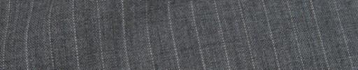 【Cu_8s27】ライトグレー+7ミリ巾白ドット・織り交互ストライプ