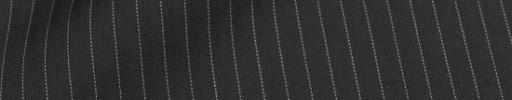 【Cu_8s34】ブラック5ミリ巾ヘリンボーン+白ストライプ