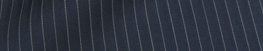 【Cu_8s35】ネイビー5ミリ巾ヘリンボーン+白ストライプ
