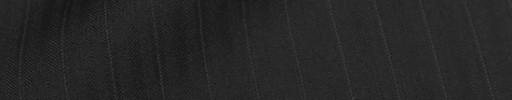 【Cu_8s36】ブラックブロークンヘリンボーン1.1cm巾織りストライプ