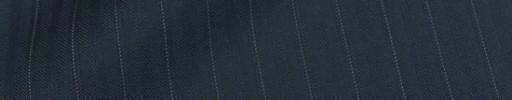 【Cu_8s37】ネイビーブロークンヘリンボーン1.1cm巾織りストライプ