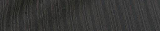【Cu_8s38】グレーブロークンヘリンボーン+1.1cm巾織りストライプ