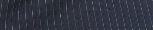 【Cu_8s39】ネイビー5ミリ巾ヘリンボーン+ピンクストライプ