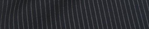 【Cu_8s42】ダークネイビー+3ミリ巾白ストライプ