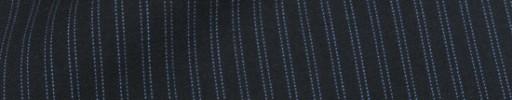【Cu_8s45】ダークネイビー+7ミリ巾ライトブルーWストライプ
