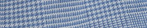 【Ha_8me01】ライトブルー7.5×7cmグレンチェック