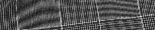 【Hr_Req04】グレーグレンチェック+8.5×6.5cm白プレイド