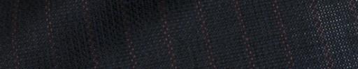 【P5_5s038】黒紺+1.2cm巾赤ストライプ