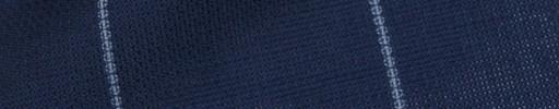 【P5_8s043】ネイビー+6.5×5.8cmライトブルーウィンドウペーン