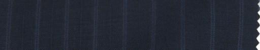 【PS_8s04】ネイビー+1.2cmブルー・織り交互ストライプ