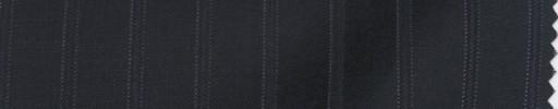 【PS_8s13】ダークネイビー+1.3cm巾織り・ドットストライプ
