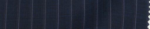【PS_8s15】ネイビーピンチェック+1cm巾白・エンジストライプ
