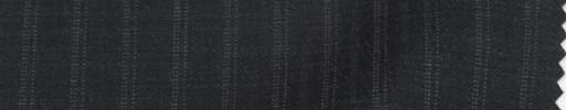 【PS_8s19】チャコールグレー地9ミリ巾ドット・織り交互ストライプ