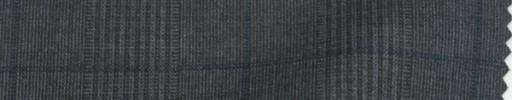 【PS_8s23】ミディアムグレー6.5×5cmファンシーグレンチェック+ネイビープレイド