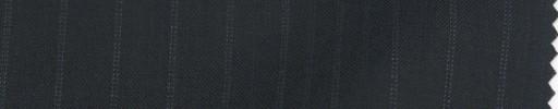 【PS_8s27】ネイビー+1cm巾白Wドット・織り交互ストライプ