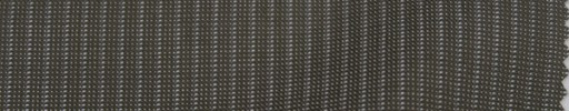 【P_8s29】ブラウンピンチェック+4ミリ巾ストライプ