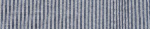 【Cb_08Ws02】ブルーグレー×ホワイト2ミリ巾ストライプ