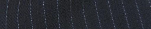 【Cb_8ss006】ネイビー+8ミリ巾ライトブルー・織り交互ストライプ