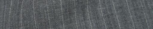 【Cb_8ss007】ミディアムグレー+8ミリ巾白・織り交互ストライプ