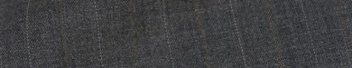 【Cb_8ss025】ミディアムグレー+1.8cmブラウン・白交互ストライプ