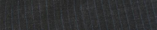 【Cb_8ss026】チャコールグレー+4ミリ巾ブルーストライプ